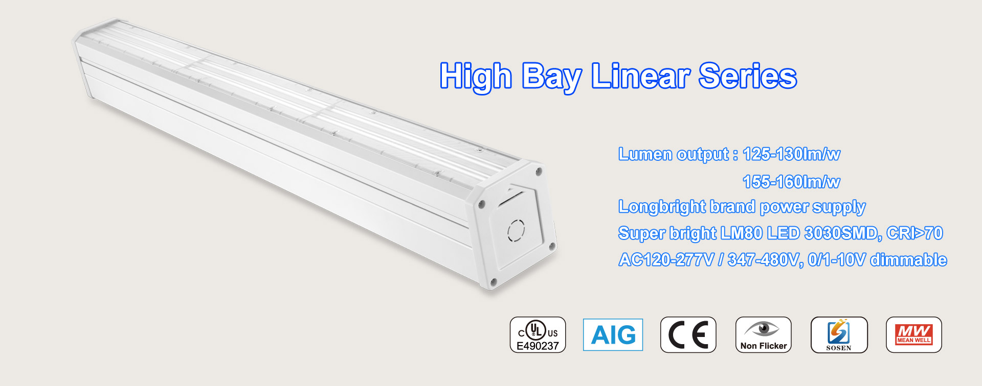linear high bay